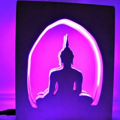 lampe bouddha
